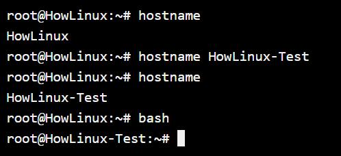 Temporary Hostname Setup In Debian