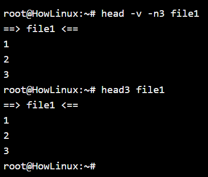 Alias Command Executed Example