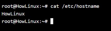 Hostname File