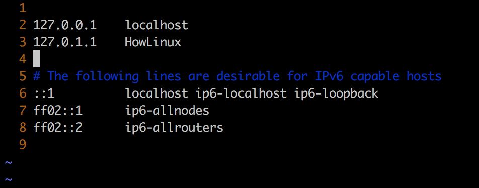 Ubuntu Updated Host Config File