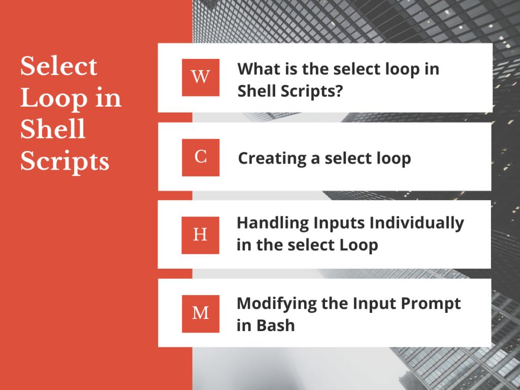 Select Loop