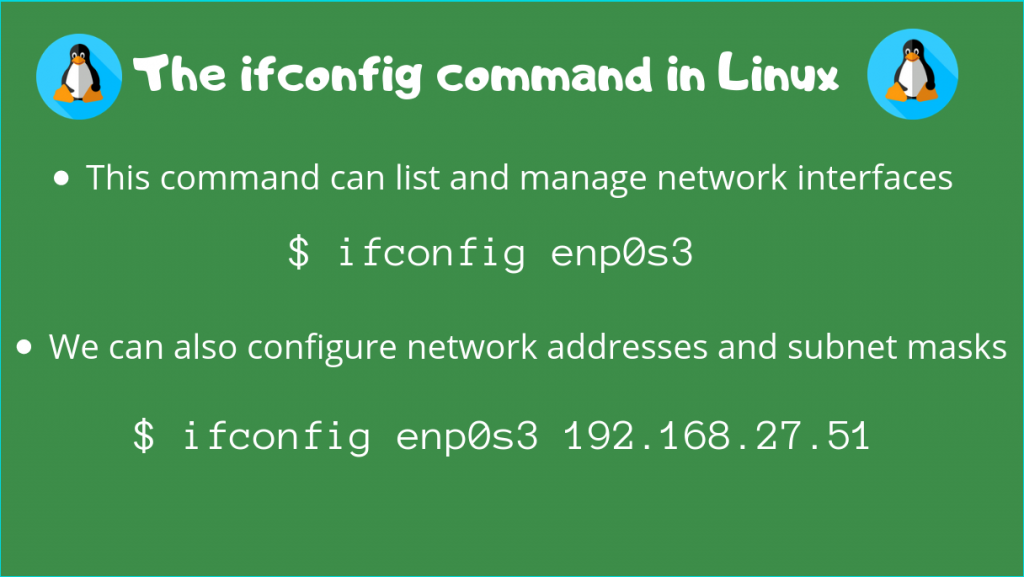 Ifconfig Command Linux