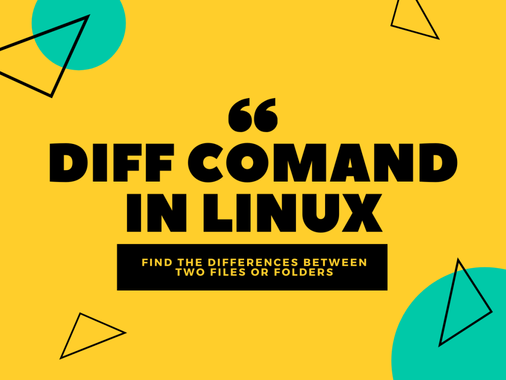 Diff Comand In Linux
