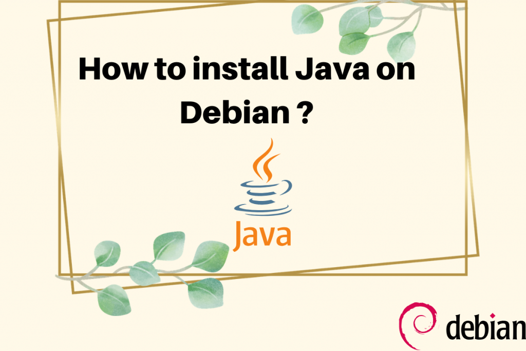 How To Install Java On Debian