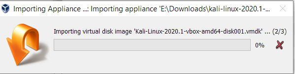 Importing Kali Linux On Virtualbox