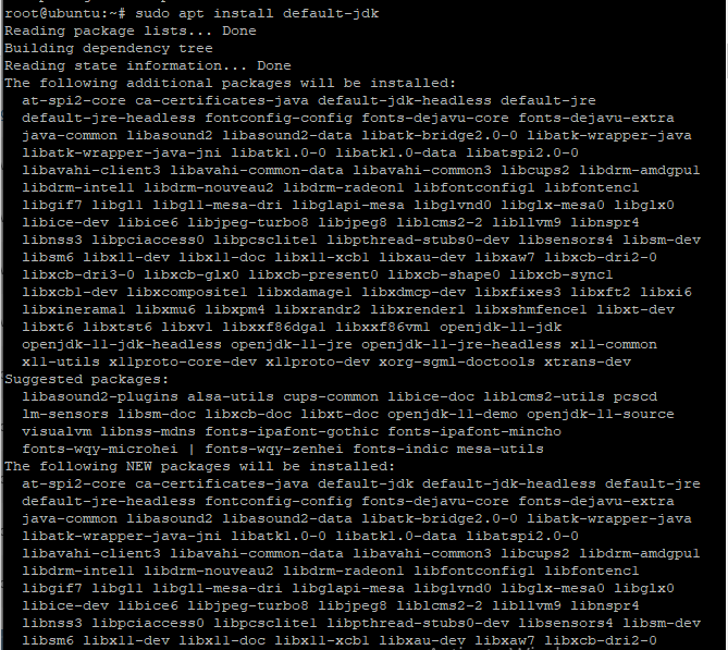 Install Default Jdk Step2