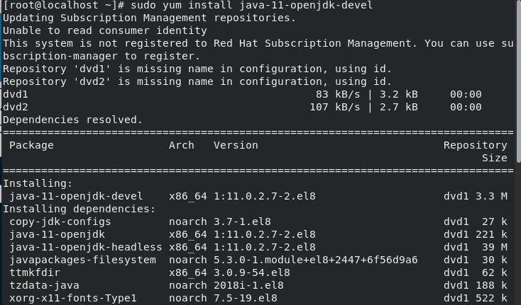 Install Java Step1