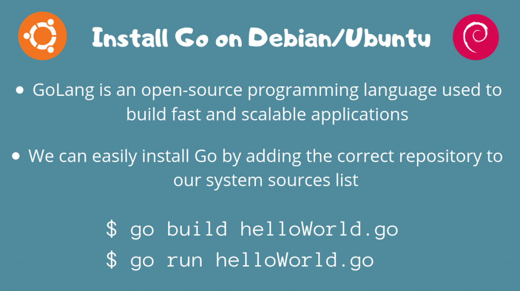 Install Go On Ubuntu Debian