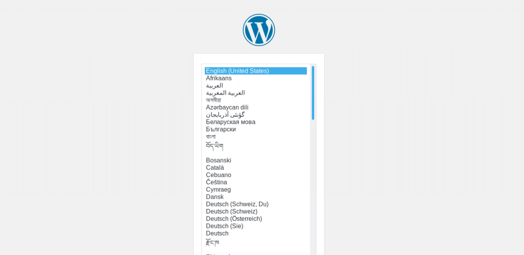 Wordpress Interface 1