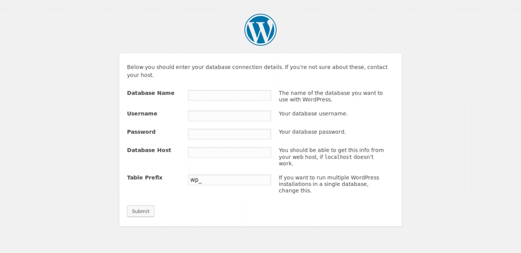 Wordpress Interface 3