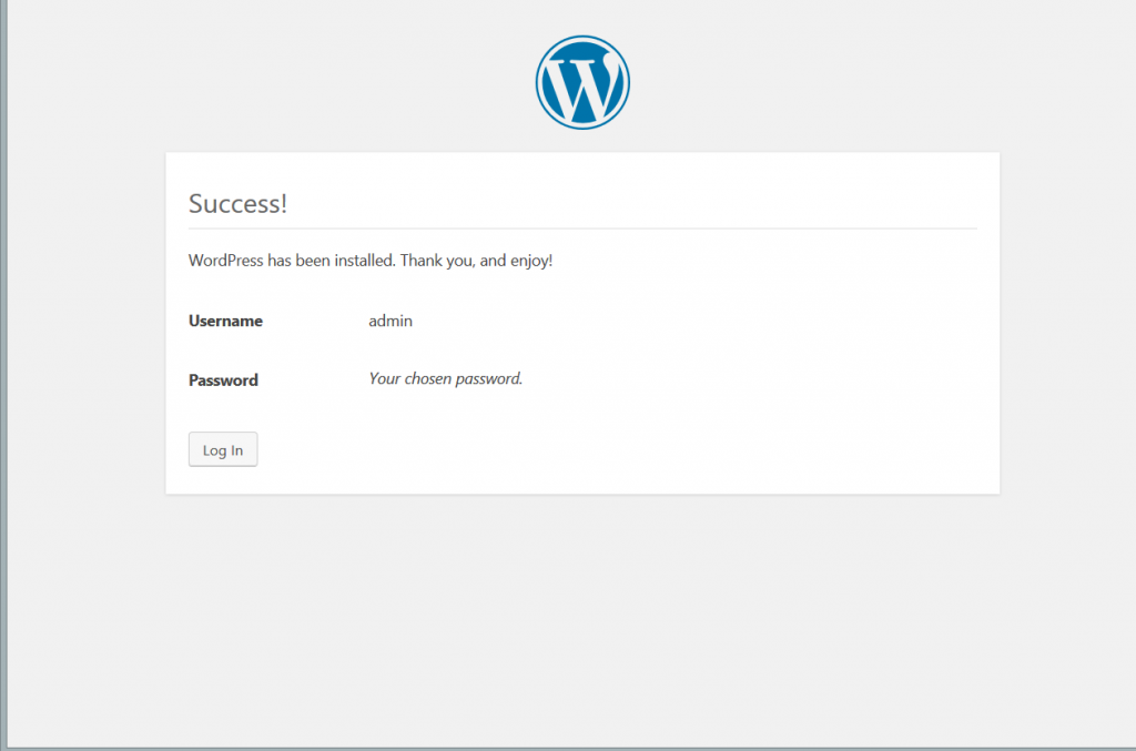 Wordpress Interface 5