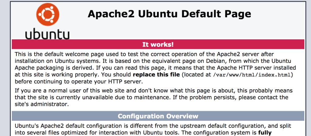 Apache Default 1