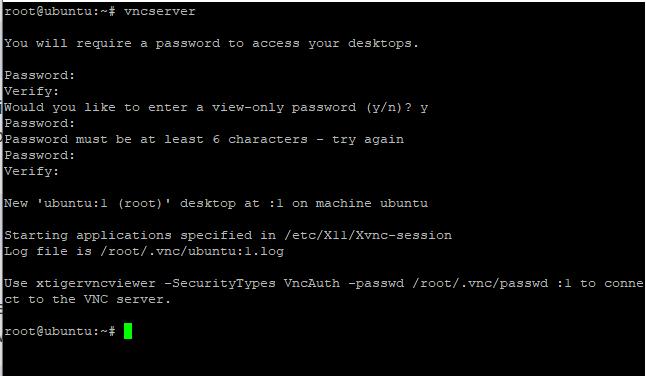 Check Vnc Server Step2
