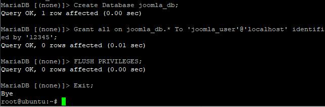 Create Databse Step 1