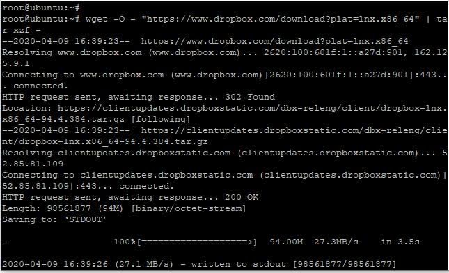 Install Dropbox Step1