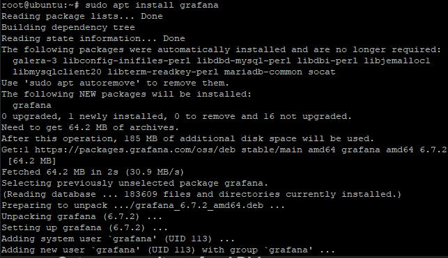 Install Grafana Step4