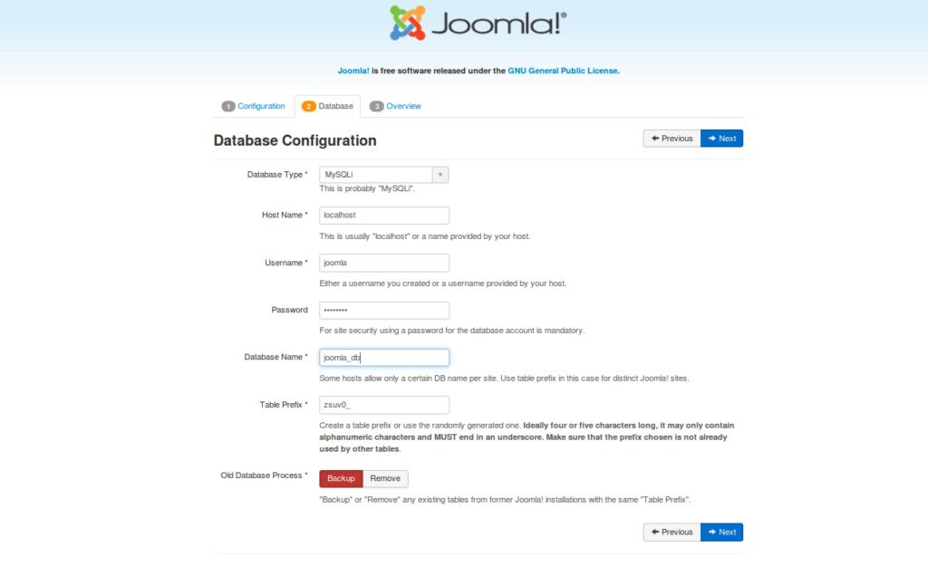 Joomla Interface 2