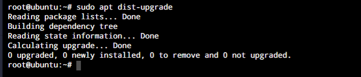 Sudo Dist Upgrade
