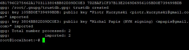 Install Gpg Key Rvm