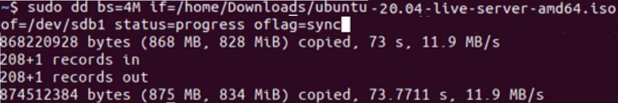 Ubuntu Bootable Disk