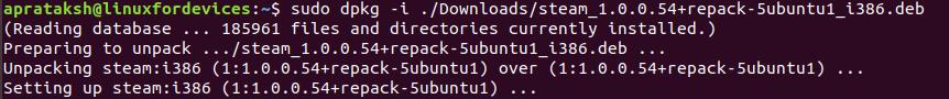 Dpkg Install Path