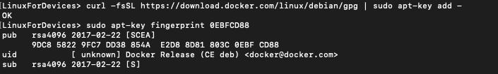 Docker Key