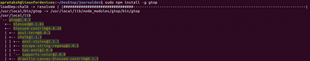 Gtop Install Gtop