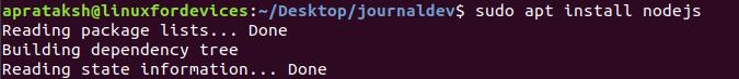 Gtop Install Nodejs