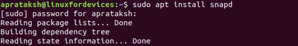 Notepad Install Snapd 1