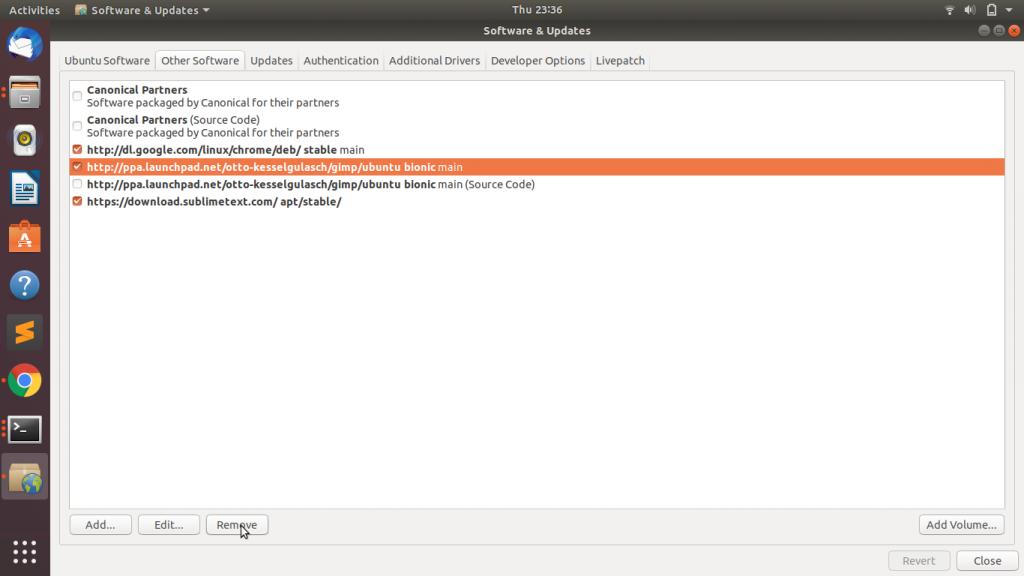 Remove Repo GUI1