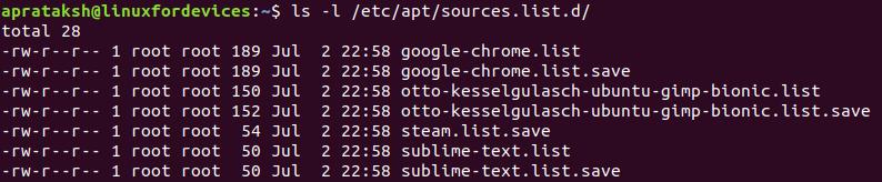 Remove Repo Source Ls