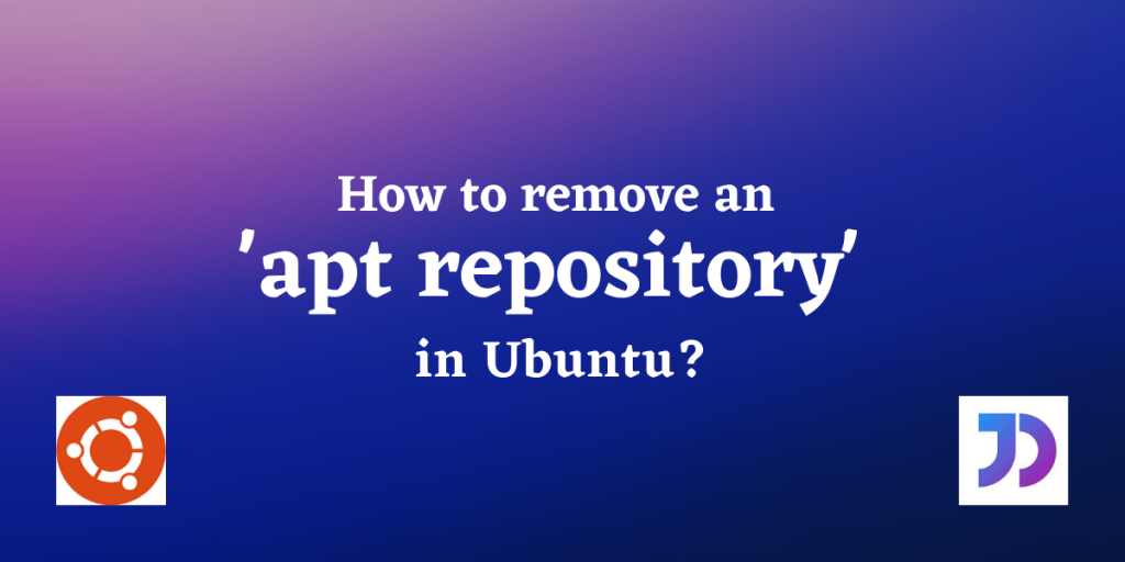 Remove Repository Featured Image