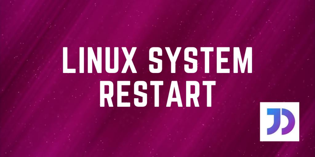 Linux System Restart Featured Image
