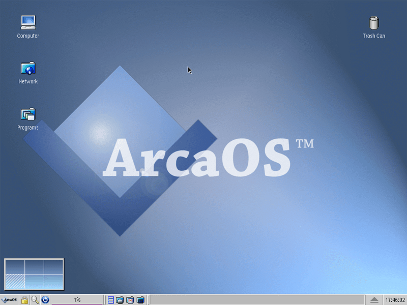 ArcaOS 5.0 Screenshot