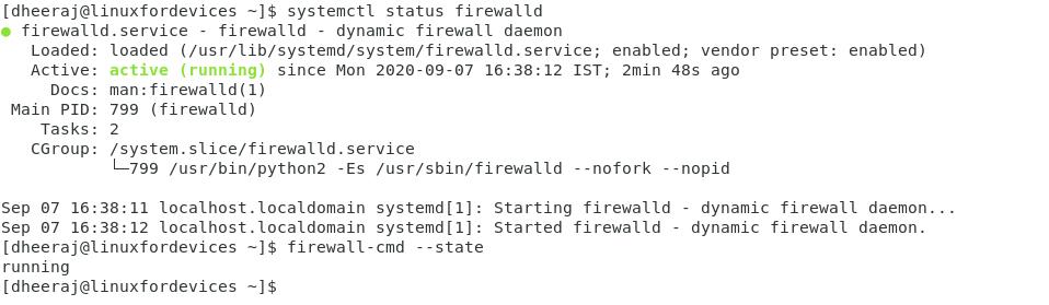 Firewall Running Status Edited