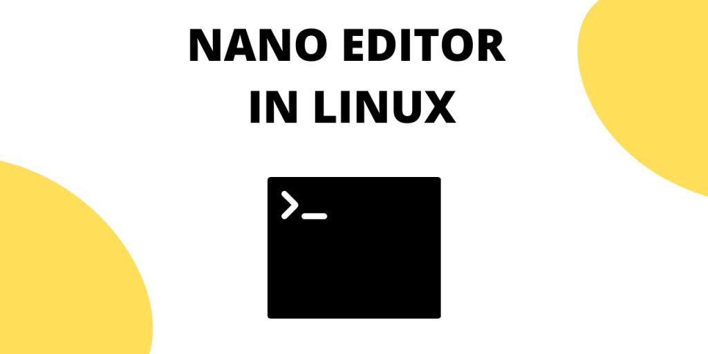 Nano Editor