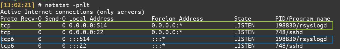 Using Netstat To Check Open Ports