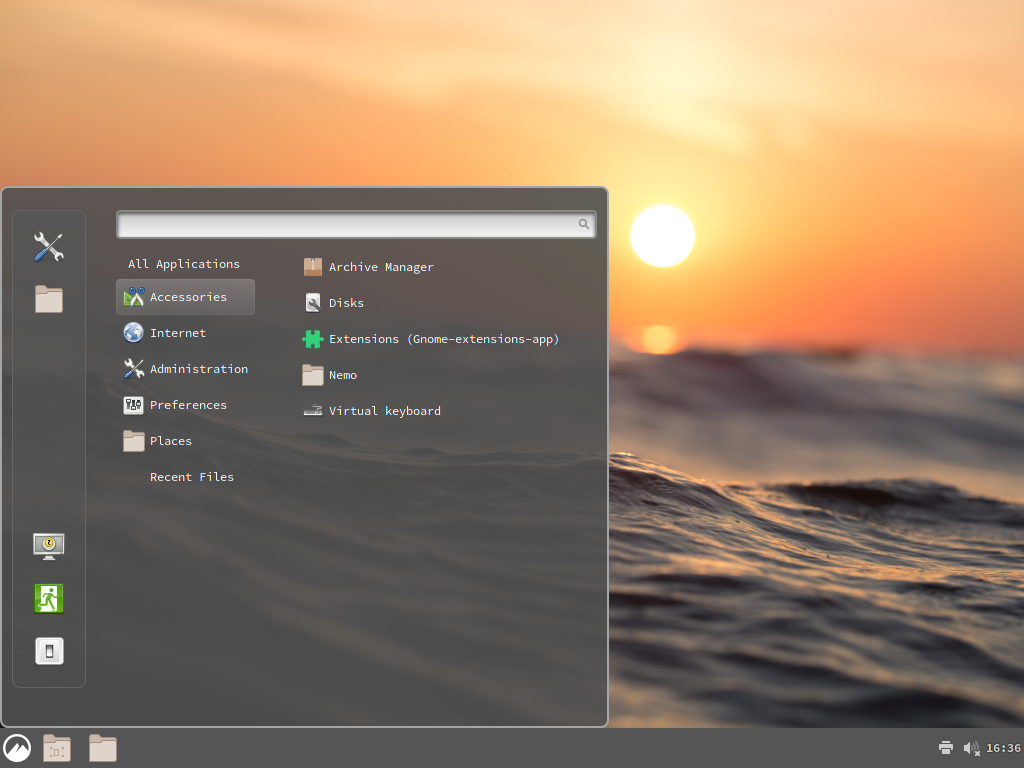 Cinnamon Desktop Environment