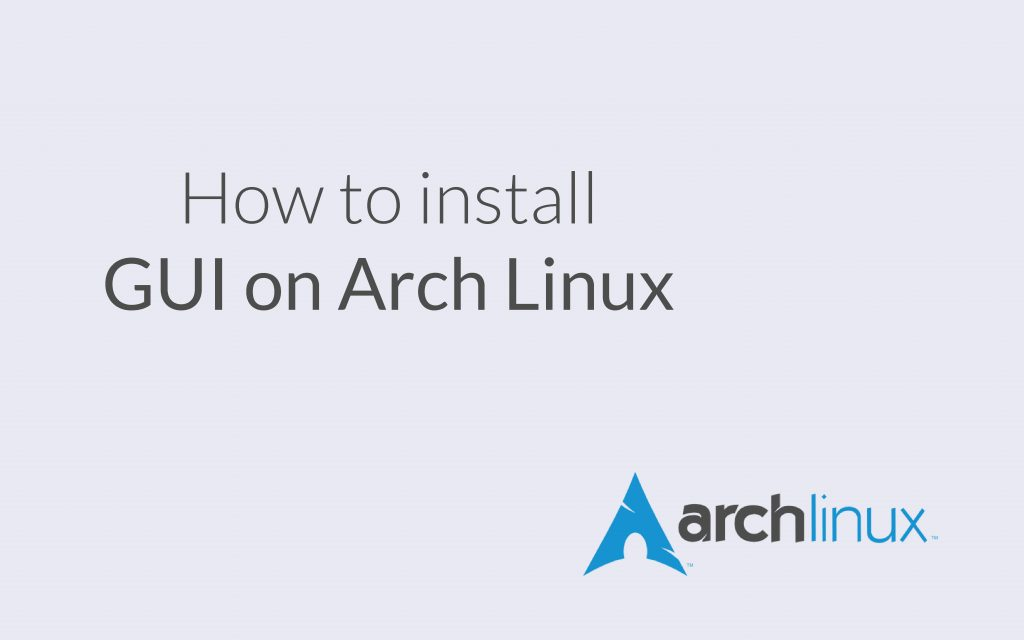 Cover Photo GUI Arch Linux 01