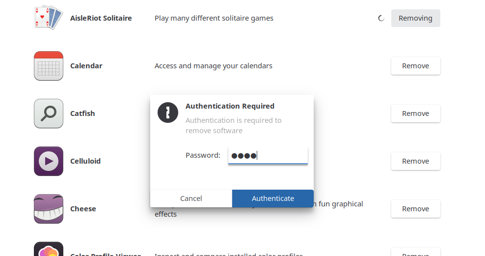 User Authentication Popup
