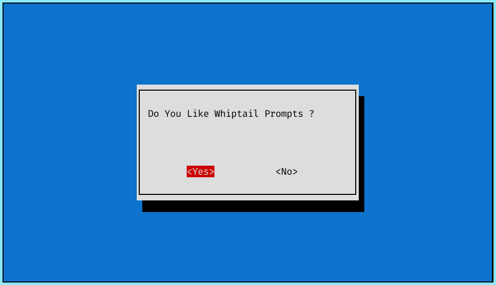 Yes No Prompt