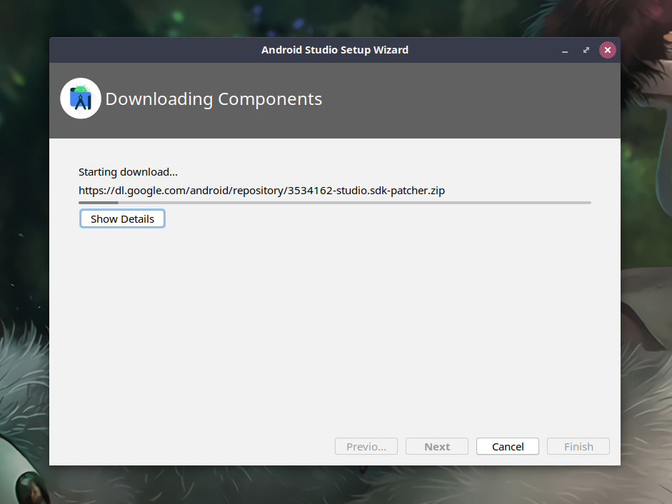 Android Studio Downloading Sdk And Components