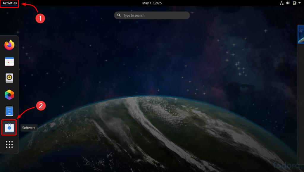 Launching Fedoras Software Store 1