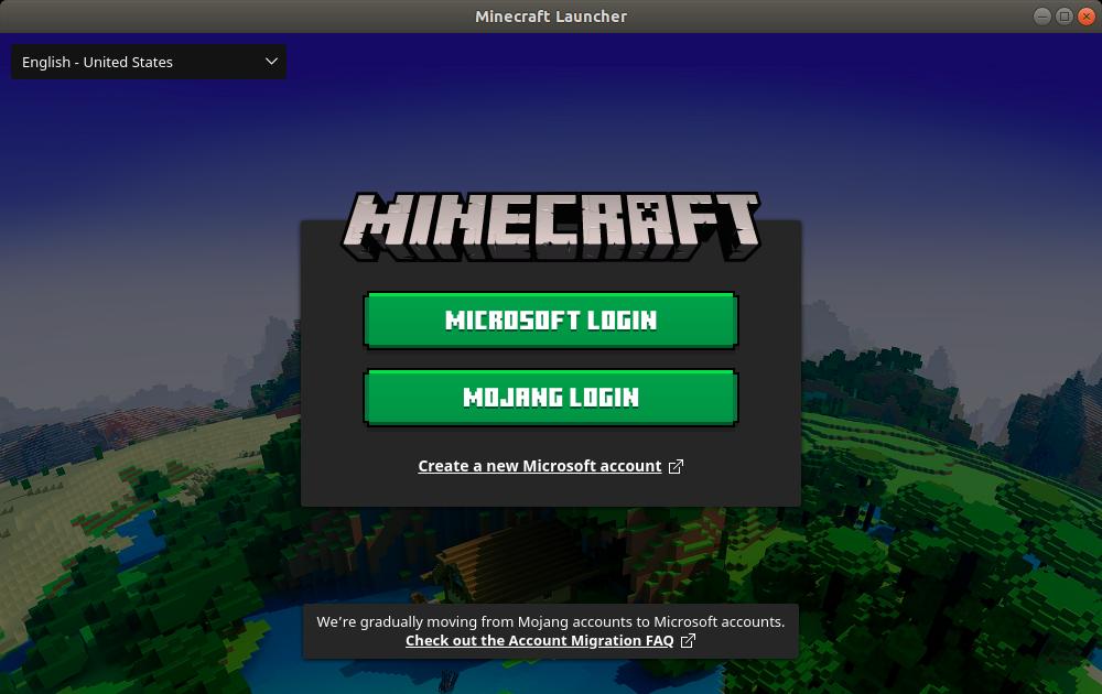 Minecraft Login