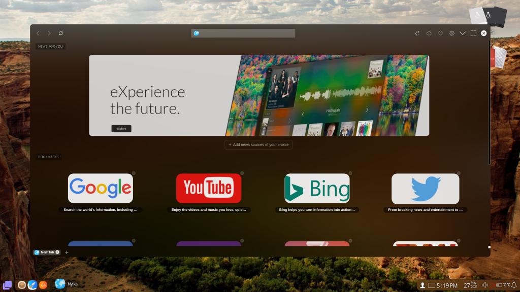 ExternOS Browser