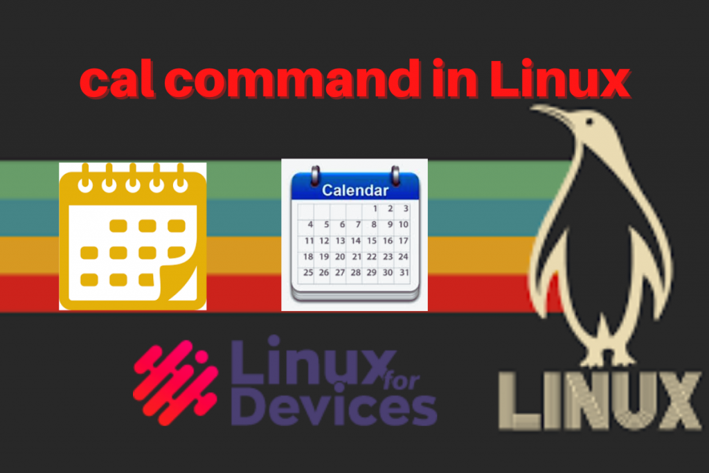 Cal Command In Linux