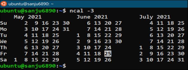 Output Ncal 3 1