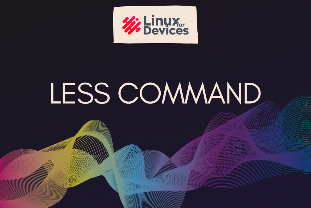 Less Command In Linux