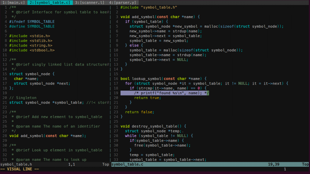 Vim Papercolor Theme 4 Best Terminal Based Text Editors for Linux