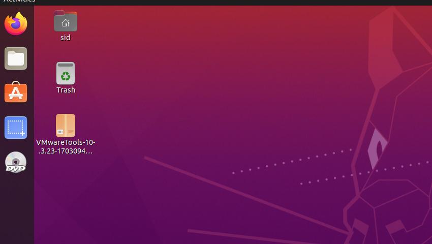 Vmware Desktop 1